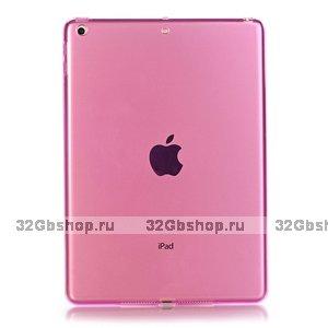 """Розовый прозрачный силиконовый чехол для iPad Pro 11"""""""