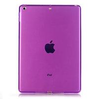"""Фиолетовый прозрачный силиконовый чехол для iPad Pro 11"""""""