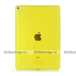 """Желтый прозрачный силиконовый чехол для iPad Pro 11"""""""