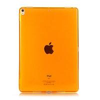 Оранжевый прозрачный силиконовый чехол для iPad Pro 12.9 2018