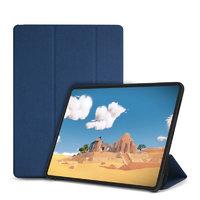 Синий матовый чехол книжка для iPad Pro 12.9 2018