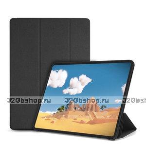 Черный матовый чехол книжка для iPad Pro 12.9 2018