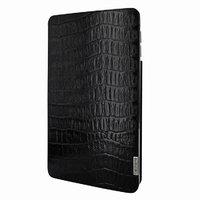 Черный чехол из кожи крокодила для iPad Pro 12.9 2018