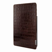 Коричневый чехол из крокодиловой кожи для iPad Pro 12.9 2018