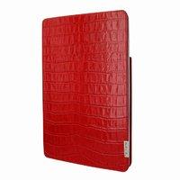 Красный чехол книга из кожи крокодила для iPad Pro 12.9 2018