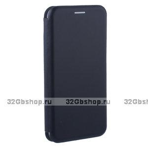 Черный кожаный чехол книга Fashion Case для Xiaomi Redmi 6A (5.45) Black