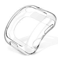 Прозрачный силиконовый чехол для Apple Watch 44mm