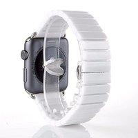 Белый керамический браслет для Apple Watch 42мм - 44мм