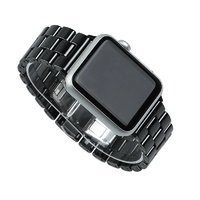 Керамический браслет для Apple Watch 42мм - 44мм Черный