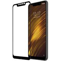 Защитное стекло 2D для Xiaomi Pocophone F1 с черной рамкой