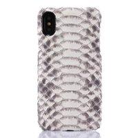 "Чехол из кожи змеи для iPhone XS Max 6.5"" питон"