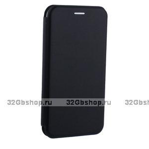 Черный чехол книжка для iPhone XR - Fashion Case Slim-Fit Black