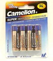 Батарейка Camelion R6-4BL Green 1.5В АА