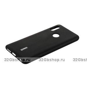 Черный силиконовый чехол для Xiaomi Redmi Note 7