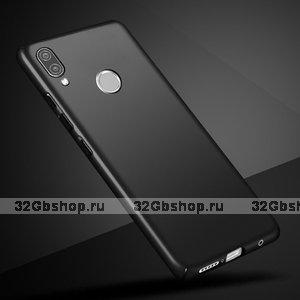 Черный тонкий пластиковый чехол для Xiaomi Redmi Note 7
