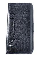 Черный чехол книга - кошелек с отсеками для карт для iPhone XS Max