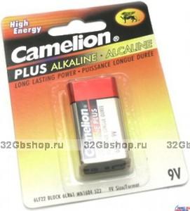 Батарейка Camelion 6F22-1P Green Plus Alkaline Крона