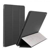 Черный чехол книжка обложка для Apple iPad Pro 12.9 2018 - Baseus Smart Folio Simplism Y-Type Leather Black