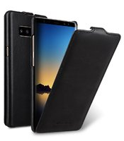 Черный кожаный чехол флип для Samsung Galaxy S10 - Melkco Premium Leather Case Jacka Type Black