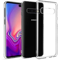 Прозрачный силиконовый чехол для Samsung Galaxy S10 Plus (S10+)
