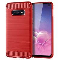 Красный защитный силиконовый чехол для Samsung Galaxy S10e