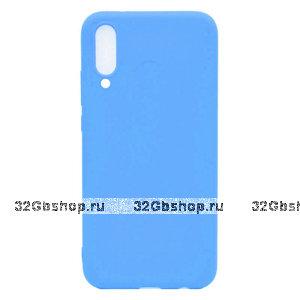 Голубой силиконовый чехол для Xiaomi Mi 9