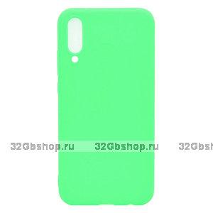 Зеленый силиконовый чехол для Xiaomi Mi 9