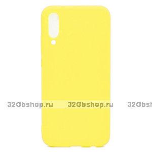 Желтый силиконовый чехол для Xiaomi Mi 9