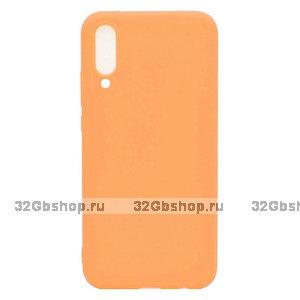 Оранжевый силиконовый чехол для Xiaomi Mi 9