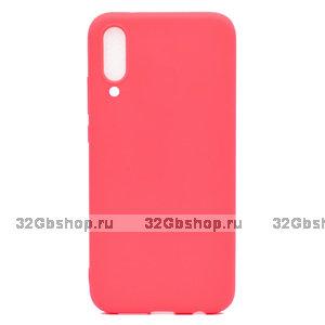 Красный силиконовый чехол для Xiaomi Mi 9