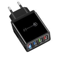 Универсальное быстрое зарядное устройство USB 3,0 ( 4 USB )