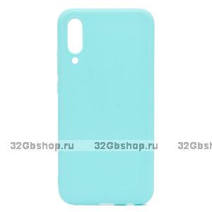 Бирюзовый силиконовый чехол для Xiaomi Mi 9