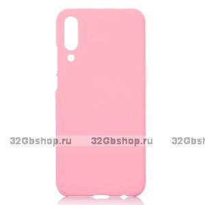 Розовый пластиковый чехол для Xiaomi Mi 9