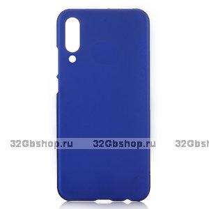 Синий пластиковый чехол для Xiaomi Mi 9