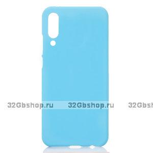 Голубой пластиковый чехол для Xiaomi Mi 9