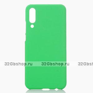 Зеленый пластиковый чехол для Xiaomi Mi 9