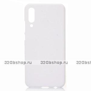 Белый пластиковый чехол для Xiaomi Mi 9