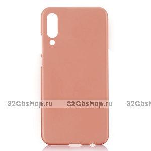 Пластиковый чехол для Xiaomi Mi 9 розовое золото