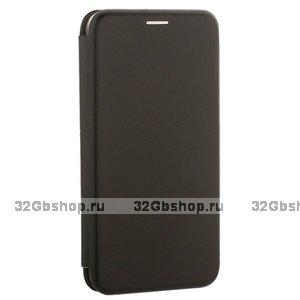 Чехол - книжка кожаный Fashion Case Slim для Xiaomi Pocophone F1 Black Черный