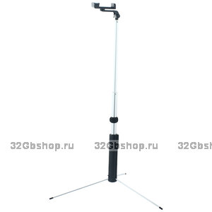 Монопод - штатив для селфи HOCO Magnificent Wireless Selfie stick (1.60 м) Black Черный