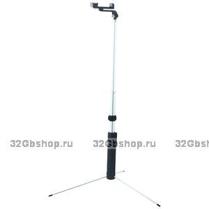 Монопод - штатив для селфи HOCO Magnificent Wireless Selfie stick (1.60 м) Black Черный