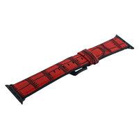 Ремешок кожаный COTEetCI Fashion Leather для Apple Watch 44мм/ 42мм Красный