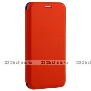 Красный чехол-книжка для Xiaomi Mi 8 - Fashion Case Slim-Fit Red
