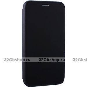 Черный чехол книга для Xiaomi Mi 8 - Fashion Case Slim-Fit Black
