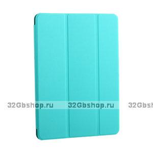 """Бирюзовый магнитный чехол обложка для Apple iPad Pro 11"""" 2018 - BoraSCO Smart Folio Turquoise"""