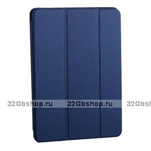 """Синий магнитный чехол обложка для Apple iPad Pro 11"""" 2018 - BoraSCO Smart Folio Blue"""