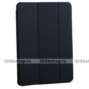 """Черный магнитный чехол обложка для Apple iPad Pro 11"""" 2018 - BoraSCO Smart Folio Black"""