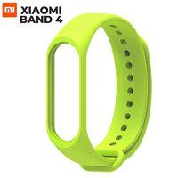 Зеленый силиконовый браслет для Xiaomi Mi Band 4