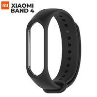 Черный силиконовый браслет для Xiaomi Mi Band 4