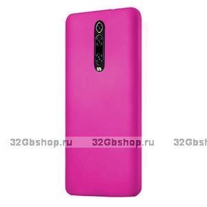 Розовый пластиковый чехол накладка для Xiaomi Mi 9T / 9T Pro